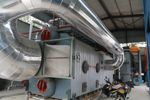 Zhongding 10ton Waste Heat Recovery Steam Boiler