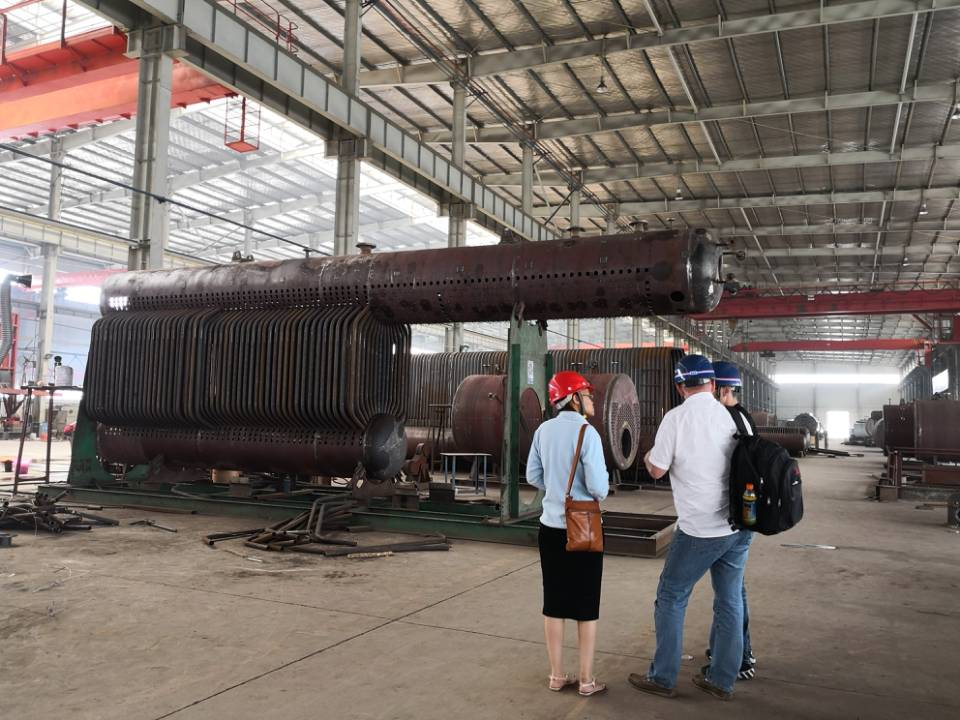 South Africa Customer Visit Zhongding to Sign Boiler Contract